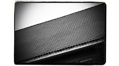 The controversial Terracotta roof tiles at Roland Park Elementary/Middle School