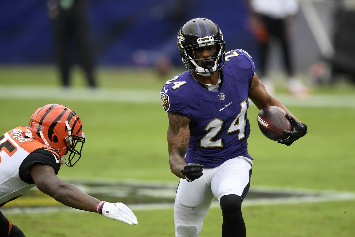 Ravens CBs Marlon Humphrey, Marcus Peters active vs ...