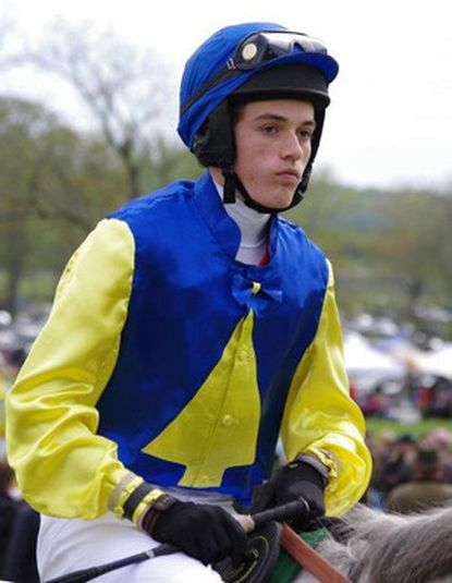 Steeplechase jockey Connor Hankin