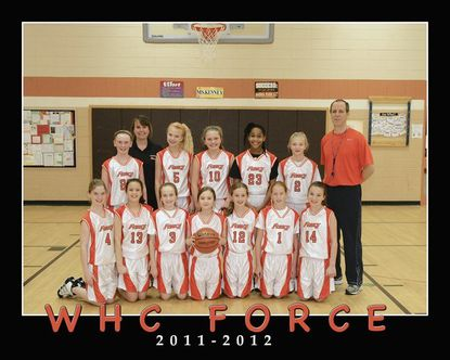 Rec sports: WHC girls basketball team is a Force to be reckoned with