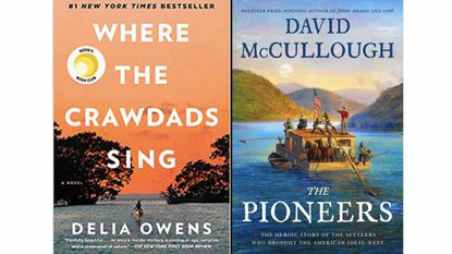 """Where the Crawdads Sing"" by Delia Owens and ""The Pioneers"" by David McCullough hold the No. 1 spots on the national best-seller lists for fiction and nonfiction, respectively."
