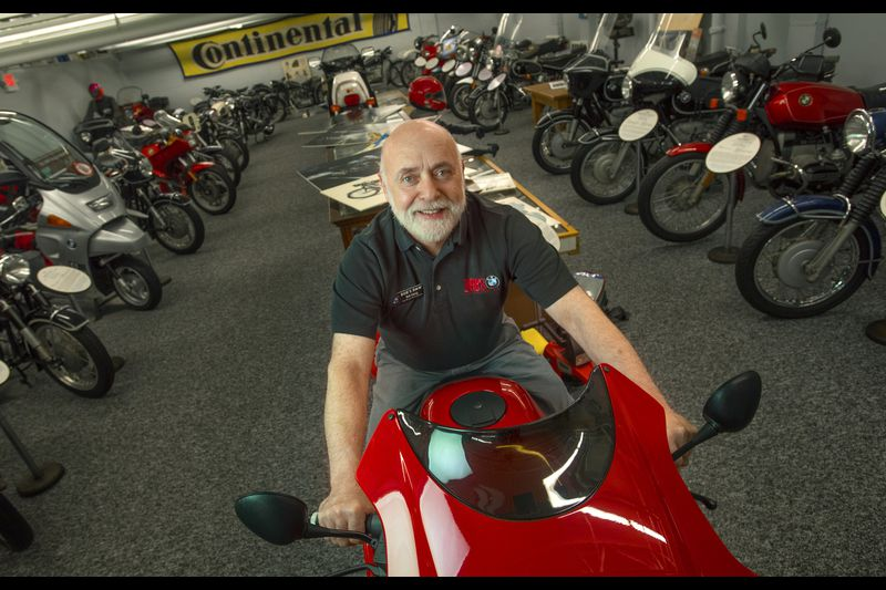 Bob S Bmw Motorcycle Museum Expands Its Collection Baltimore Sun