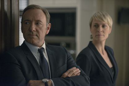 """Kevin Spacey and Robin Wright in season 2 of Netflix's """"House of Cards."""""""