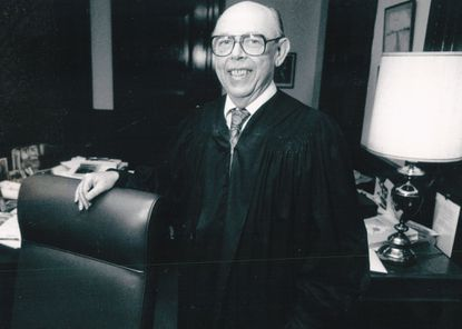 Judge Edgar P. Silver's career spanned both the law and politics.