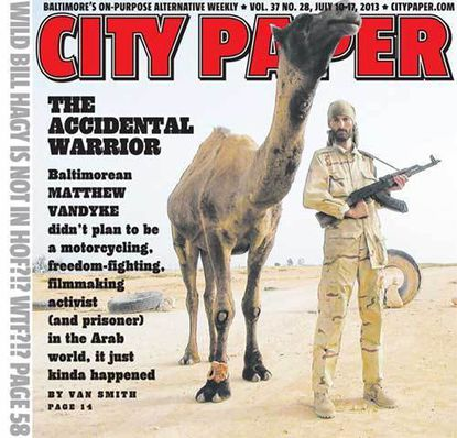 Van Dyke was the subject of a 2013 City Paper cover feature.