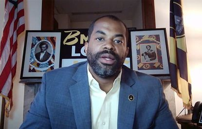 """Council President Nick J. Mosby's held a online presser to talk about the """"First 100 Days Townhall"""". President Mosby and Councilman Mark Conway talked about the accomplishments of the first 100 days of the current council term and the council's plans moving forward."""