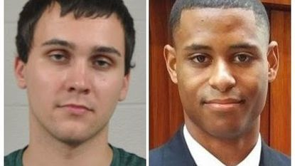 Sean Urbanski, left, has been charged with the murder of Richard Wilbur Collins III at the University of Maryland.