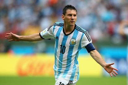 Lionel Messi of Argentina is tied for the most goals scored in the World Cup (4) with Neymar of Brazil.