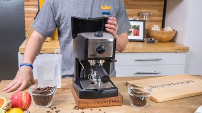 Want the best-tasting espresso? A cold cup can affect the espresso's flavor, so warm up your cup before pouring.