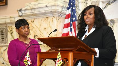 Democrat Shaneka Henson of Annapolis sworn in to fill seat of late Maryland House Speaker Busch