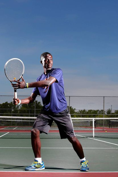 Reservoir senior Biyik Akinshemoyin, who became the second Howard County player to win a boys singles state title, is the Howard County Player of the Year.