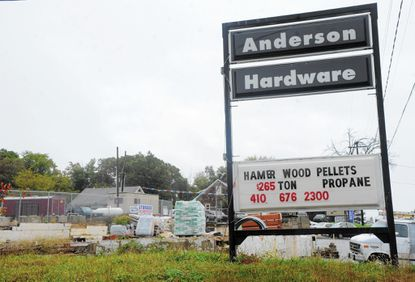 Owners of Anderson Hardware in Joppa plan to rebuild their business that was destoryed by fire in June 2013.