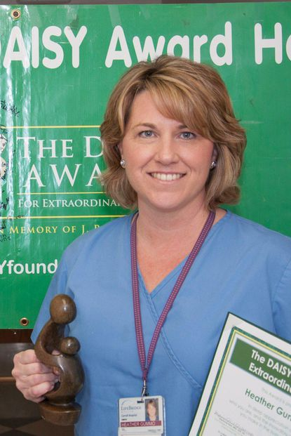 Carroll Hospital's February DAISY Award winner, Heather Gummo, R.N.