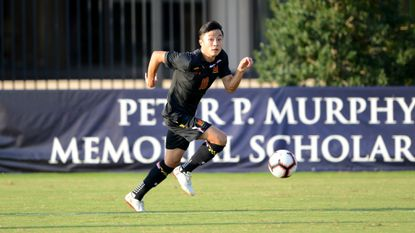 A friendship struck between Paul Bin (18) and Amar Sejdic (not pictured) more than five years ago has continued throughout their careers with the Maryland men's soccer team.