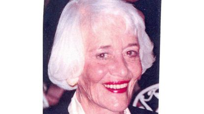 Phyllis W. Rice, a World War II Navy veteran and longtime GBMC volunteer, dies