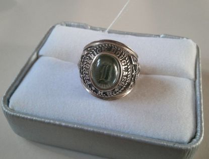 Is this your Frederick Douglass High School class of 1976 ring?
