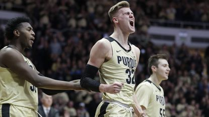 College basketball: Unranked Purdue upsets No. 6 Michigan State