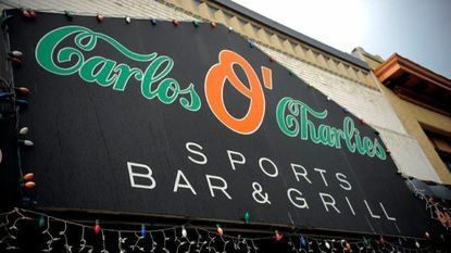Exterior of Carlos O'Charlies on Eastern Avenue on Friday, Aug. 21, 2009.