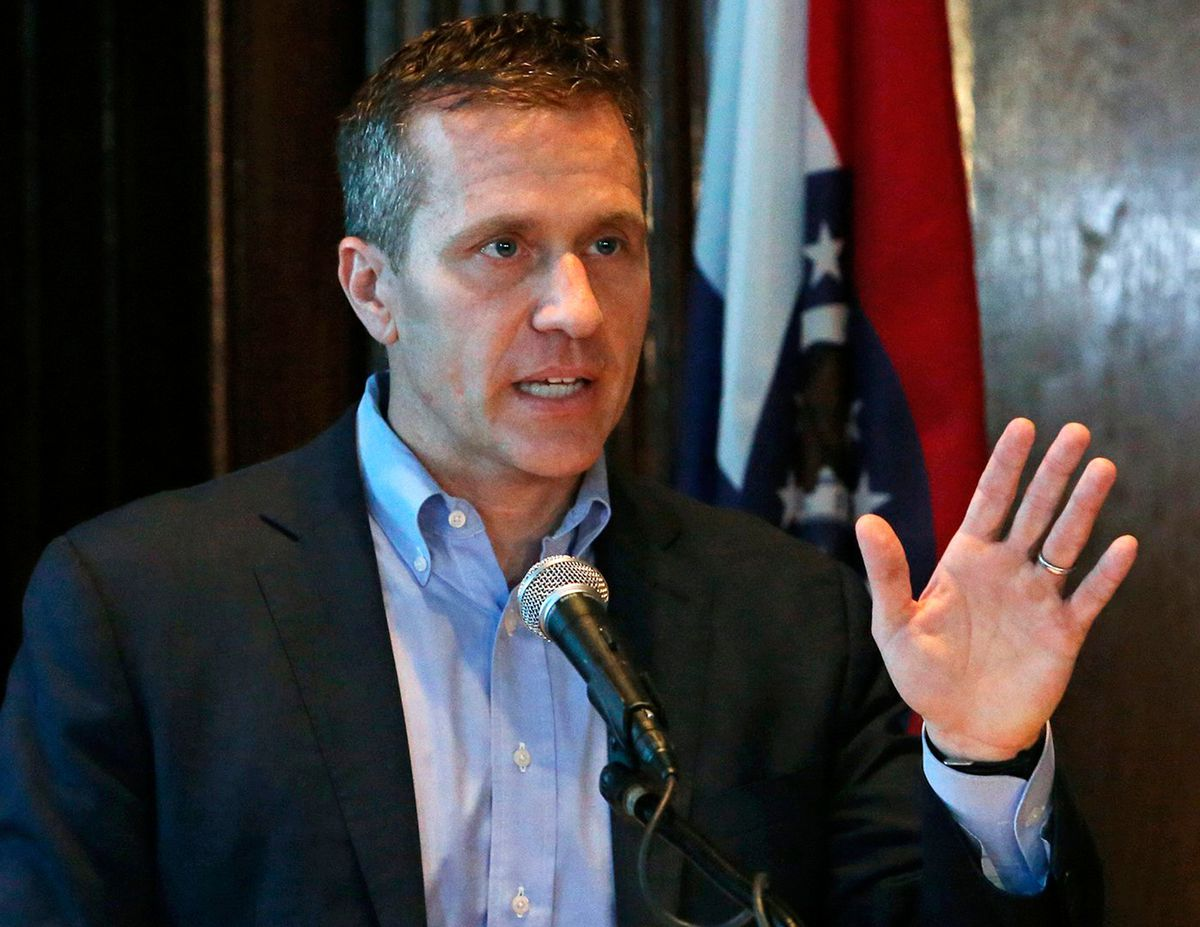 Hot water for the governors seat: Eric Greitens indicted