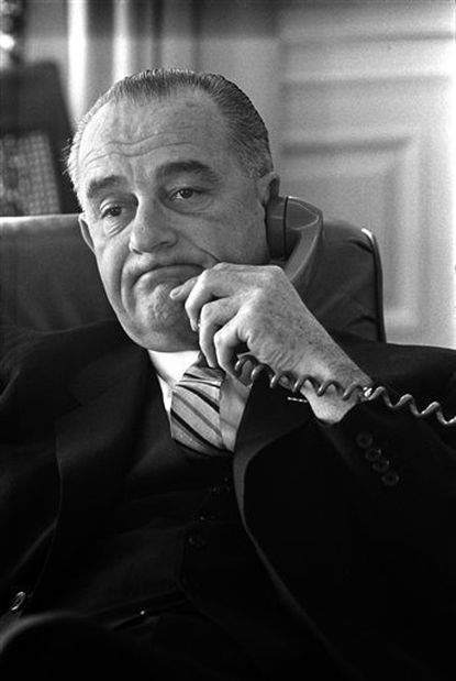 New tapes show LBJ worried about Vietnam, Nixon