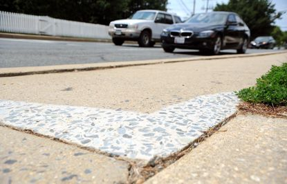 Summer means time to fix trip hazards in Bel Air - Baltimore Sun