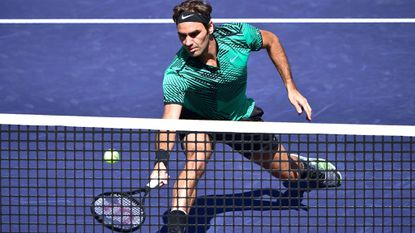 Roger Federer defeats Jack Sock to advance to Paribas Open final
