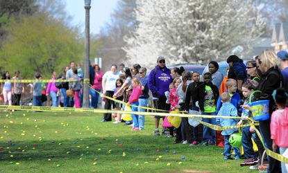 The annual Easter Egg Hunt will return to Havre de Grace Saturday, April 4, beginning at noon in Tydings Park.