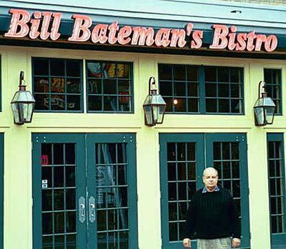 William J. Bateman, whose four Baltimore-area Bill Bateman's Bistro restaurants are holding their own amid a national economic recession, is expanding. A new Bistro is under construction in Parkville, and others are planned for the Canton neighborhood and for Hanover, Pa. 'That's one thing about cooking ... It never gets boring.'