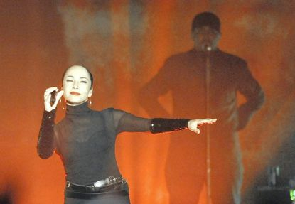 R&B singer Sade opened her tour in Baltimore in June, playing at the 1st Mariner Arena. The concert was the arena's top money-maker of the year.