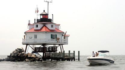 Thomas Point Shoal Lighthouse, a National Historic Landmark, will receive $100,000 in a grant announced Tuesday through the Maryland Historical Trust.
