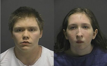 Authorities released booking photos of Jason Bulmer and Morgan Lane Arnold.