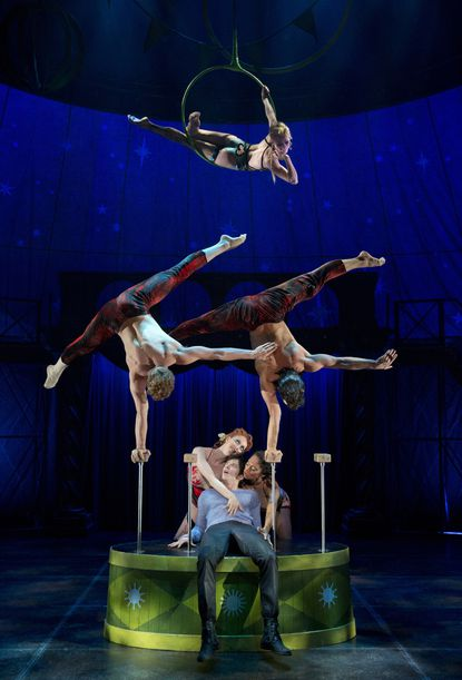 Scene from Broadway revival of 'Pippin'
