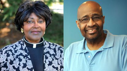 The Rev. Grace Harley of Silver Spring (left), who left her life as a lesbian behind and now opposes same-sex marriage, and the Rev. Harris Thomas, the openly gay founder of Unity Fellowship Church of Baltimore, which serves LGBT Christians of color.