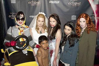 "The Sheraton Hotel hosts a ""Twilight"" convention Oct. 8-9. Pictured, fans at a 2010 ""Twilight"" fan convention in Los Angeles."