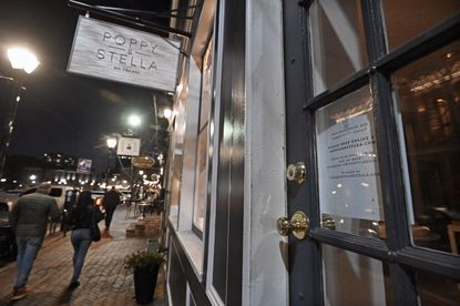 Fells Point clothing store Poppy & Stella posted a temporarily closed sign on its door asking customers to shop them online. It is among the small businesses that help make up the backbone of Baltimore's economy.
