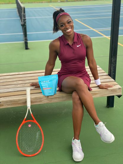 Tennis pro Sloane Stephens said COVID prevented her from visiting Trinidad last year, but she' s looking forward to exploring that part of her heritage soon.