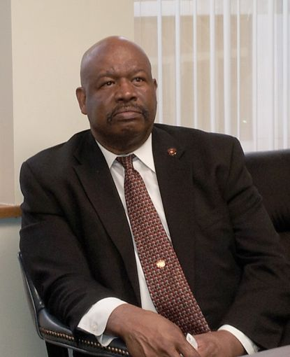 Gregory Lawrence, who was terminated as acting chief of the BWI Thurgood Marshall Airport's fire and rescue department.