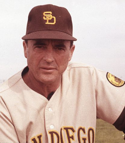 San Diego Padres manager Preston Gomez is pictured in this undated file photo. Gomez, the first manager in Padres history, died Jan. 13, 2009 in Fullerton, Calif. He was 85. Gomez was hit by a pickup truck in March 2008 in California and never fully recovered from head injuries.