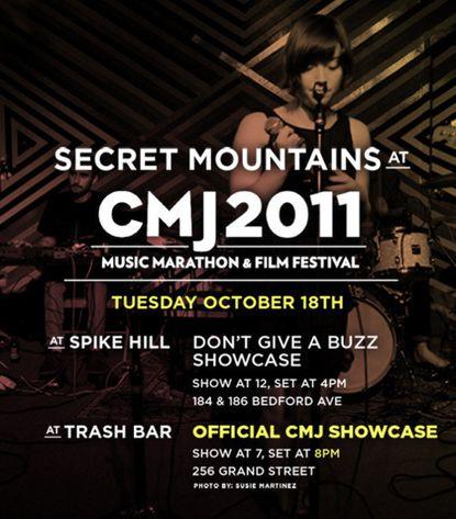 Baltimore at CMJ Music Marathon: Lands & Peoples, Secret Mountains, Adventure, the Death Set