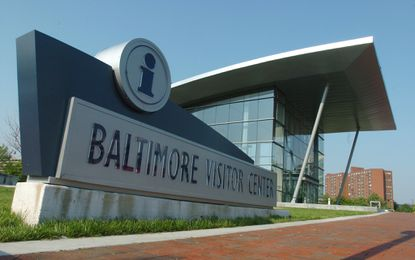 An $800,000 renovation is underway to transform the Baltimore Visitor Center to a functional event space.