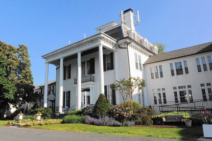 Officials say Presbyterian Home of Maryland in Towson is under a tentative contract with Caves Valley for purchase of the 19th century mansion and grounds, with a proposal to lease space to Baltimore County.