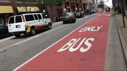 Pugh signs bill to issue $250 fines to motorists who park in bus lanes
