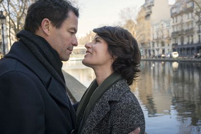 """Dominic West as Noah Solloway and Irene Jacob as Juliette in the Season 3 finale of """"The Affair."""""""