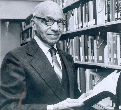 Historian, author and Morgan State professor Benjamin A. Quarles