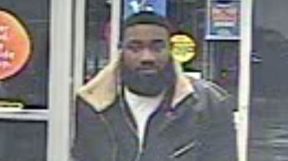 Aberdeen police released this image of a man they say is suspected in a robbery at the Aberdeen Walmart Monday morning.