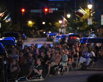 Open-air film festivals give attendees more eating options