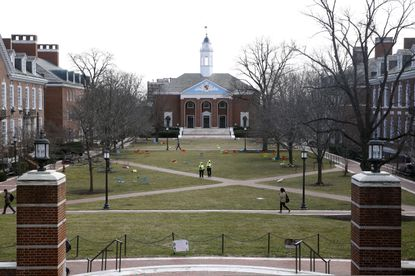 Officials at Johns Hopkins University say they're among the Maryland schools making contingency plans for students whose applications or travel are affected by the coronavirus outbreak.