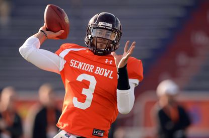 The Ravens could be looking at Logan Thomas for depth at the quarterback position. Backup Tyrod Taylor -- who like Thomas played at Virginia Tech -- becomes a free agent after this season.