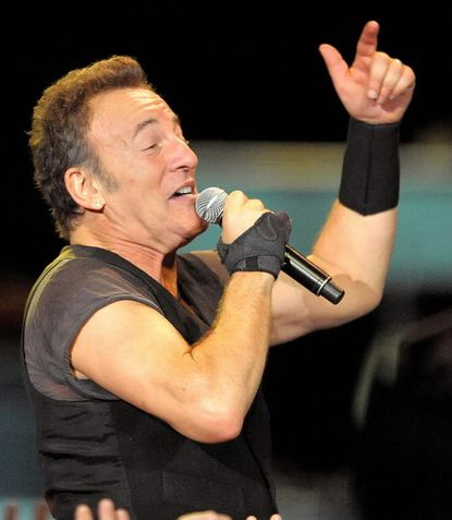 Bruce Springsteen at 1st Mariner Arena in 2009
