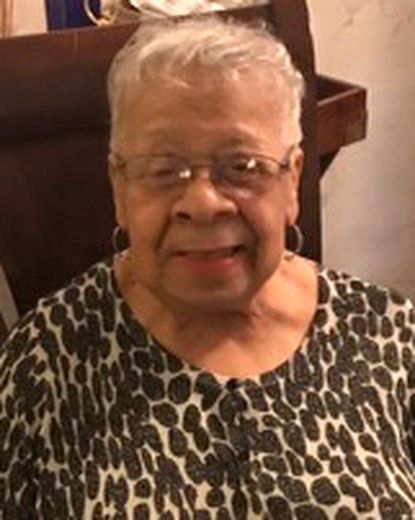 Guinevere Redd took over operation of the funeral home after her husband's death.